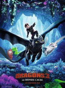 telecharger Dragons 3 : Le monde caché DVDRIP 2019 zone telechargement